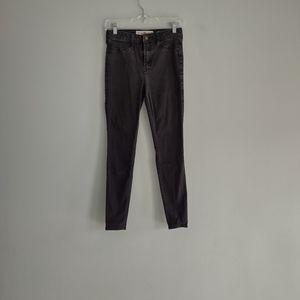 Hollister High Rise Skinny Jean Leggings Size 26